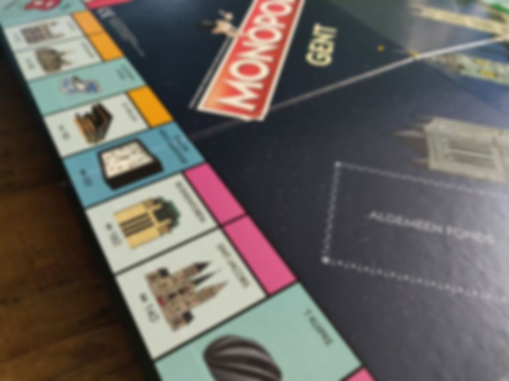 Monopoly: Gent game board