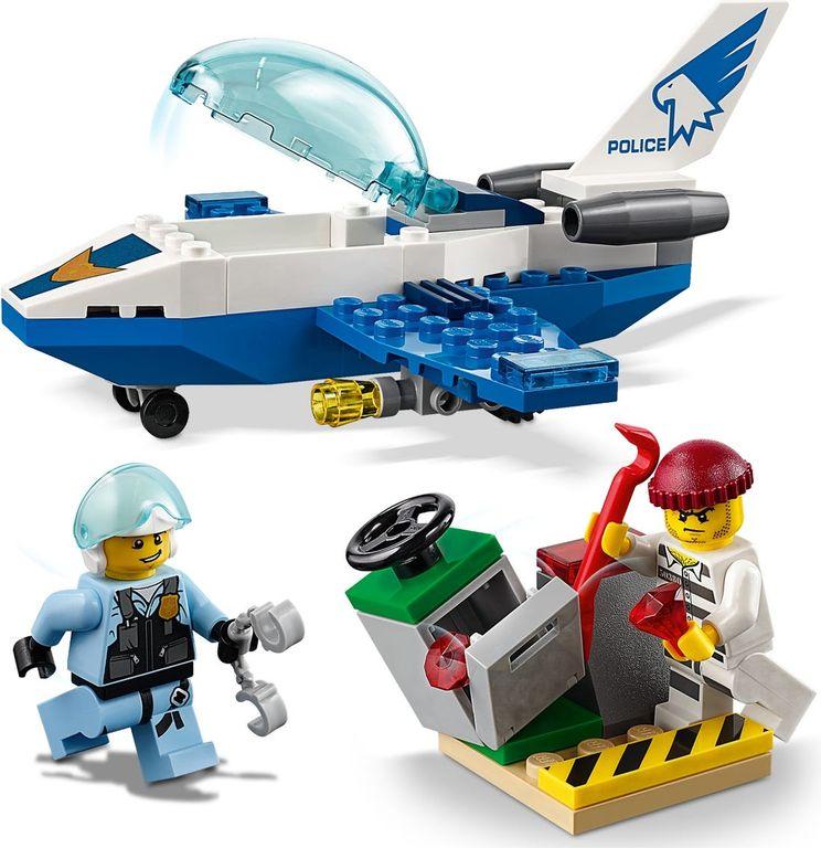 LEGO® City Sky Police Jet Patrol components