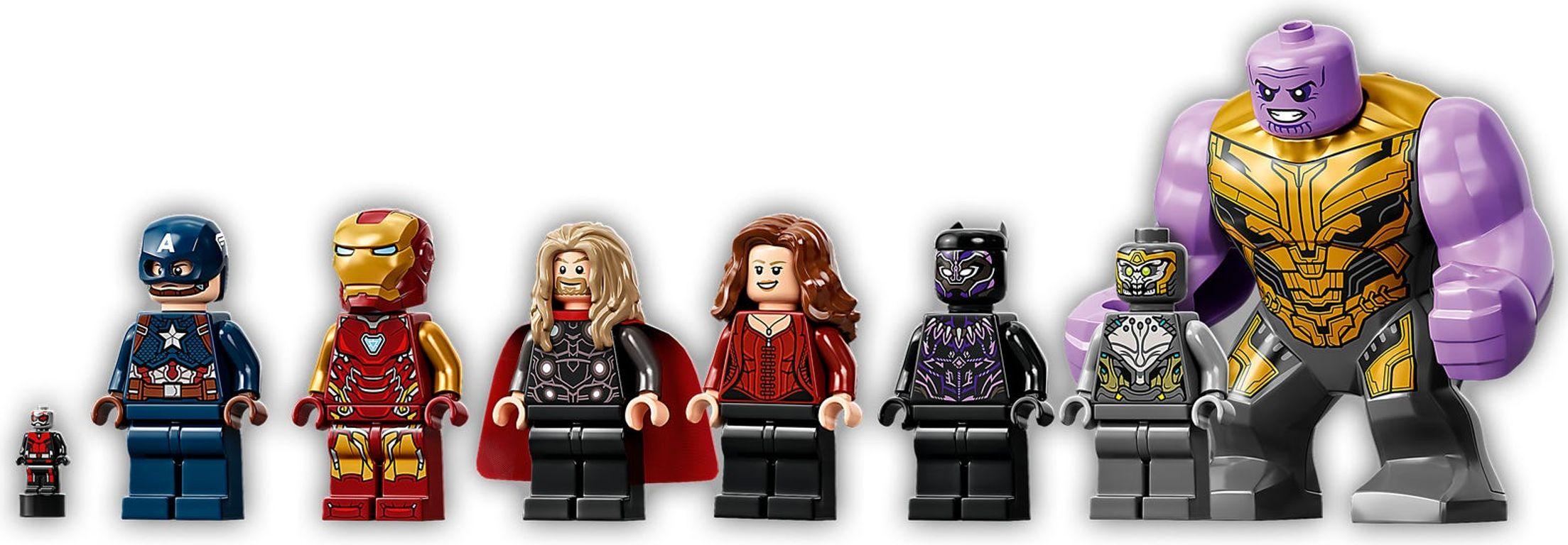LEGO® Marvel Avengers: Endgame Final Battle minifigures