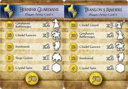BattleLore (Second Edition): Hernfar Guardians Army Pack cards