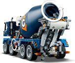 Concrete Mixer Truck back side