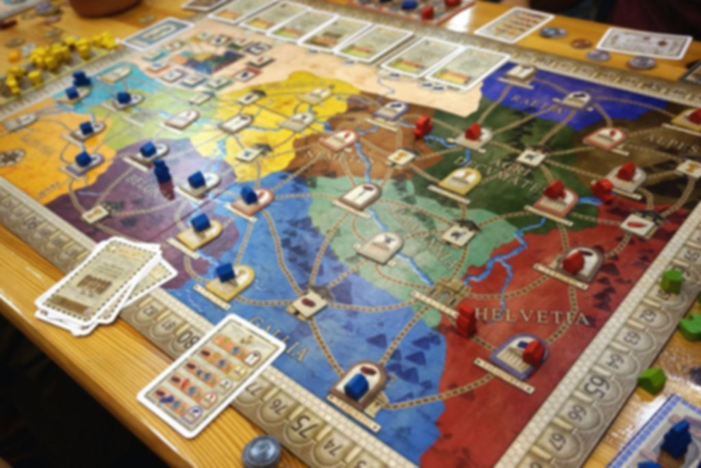Concordia: Britannia / Germania gameplay