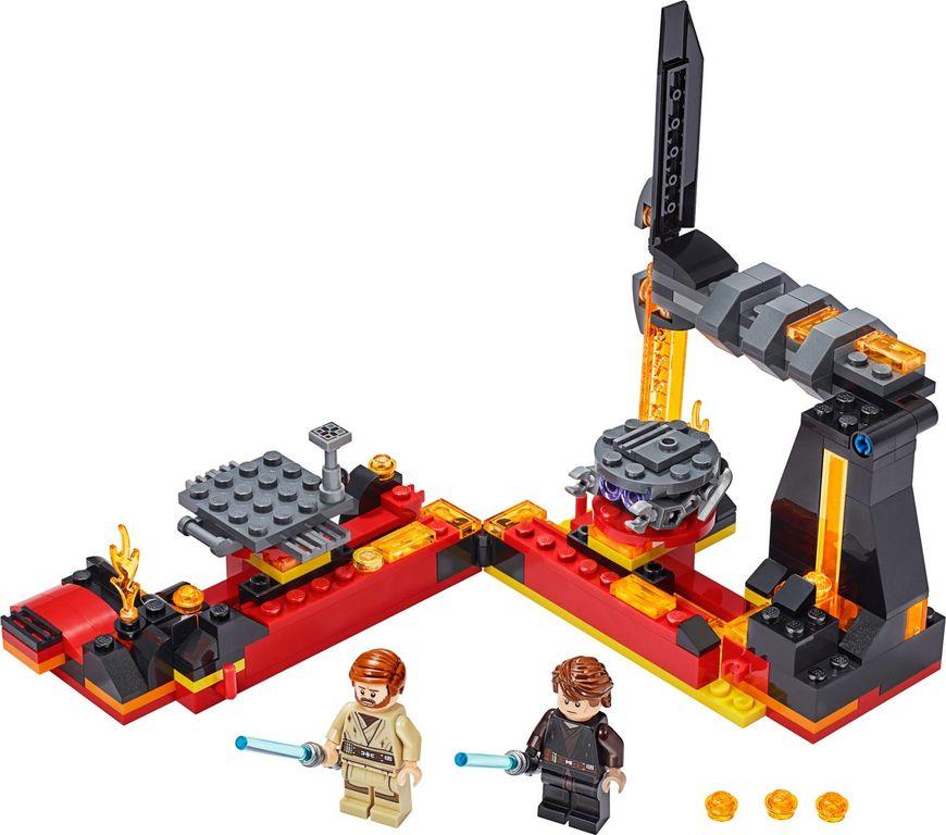 LEGO® Star Wars Duel on Mustafar™ components