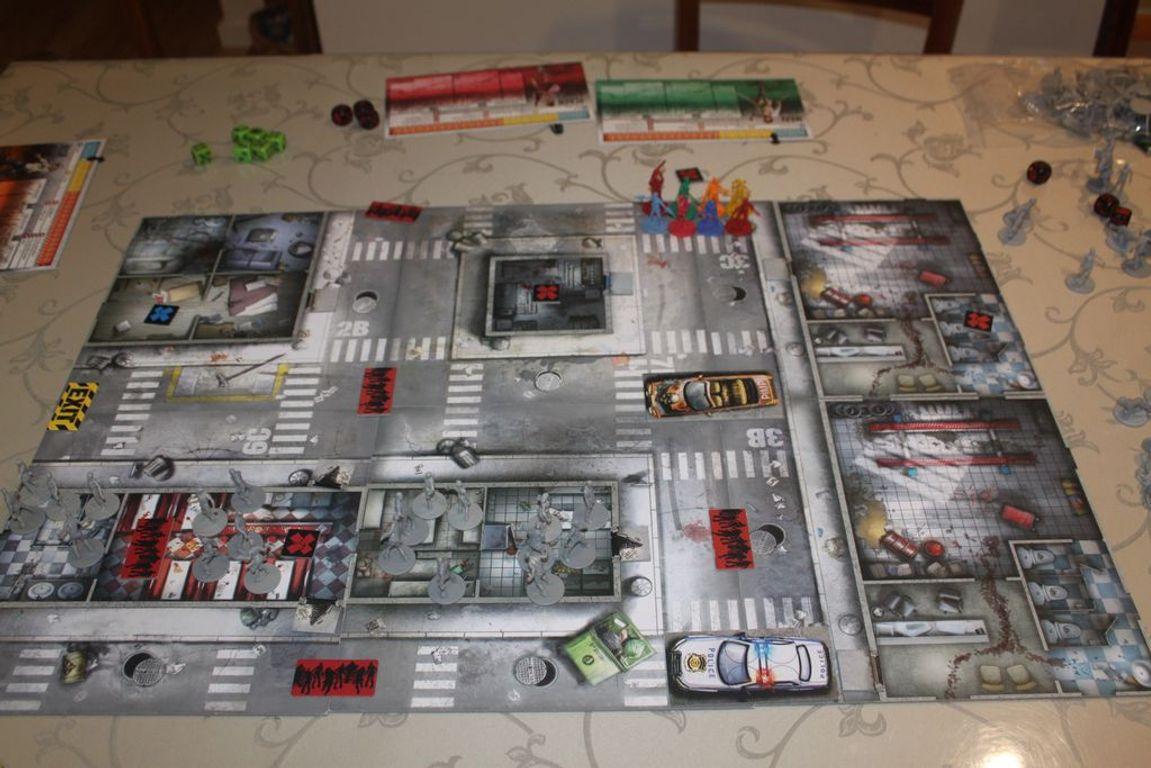 Zombicide Compendium #1 components