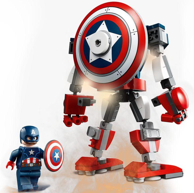 Captain America Mech Armor components