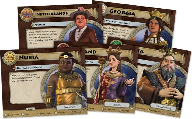Civilization: A New Dawn – Terra Incognita cards