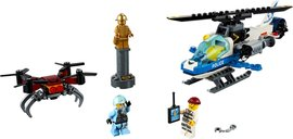 LEGO® City Sky Police Drone Chase components