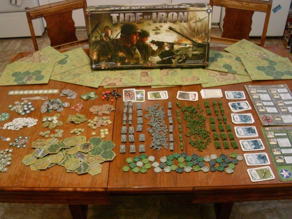 Tide of Iron components
