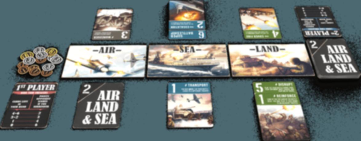 Air, Land & Sea gameplay