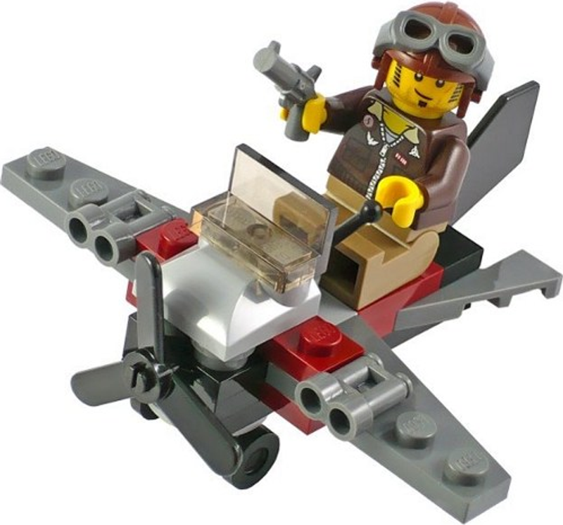 LEGO® Pharaohs Quest Desert Glider components