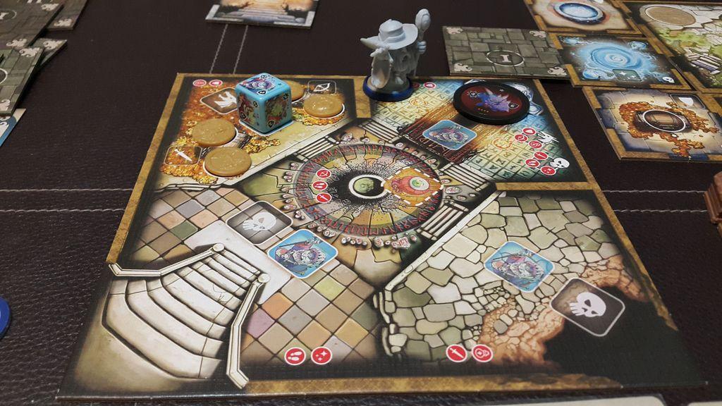 Masmorra: Dungeons of Arcadia components