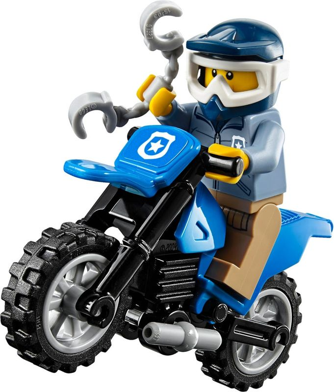 LEGO® City Off-Road Chase minifigures