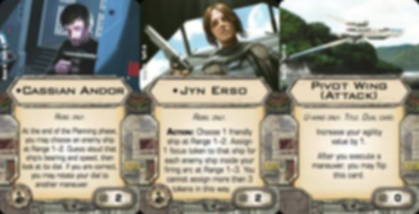 Star Wars: X-Wing Miniatures Game - U-Wing Expansion Pack cards