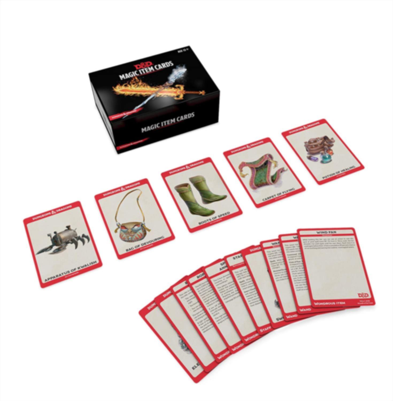 Magic Item Cards cards