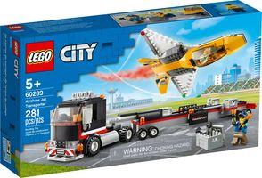 LEGO® City Airshow Jet Transporter