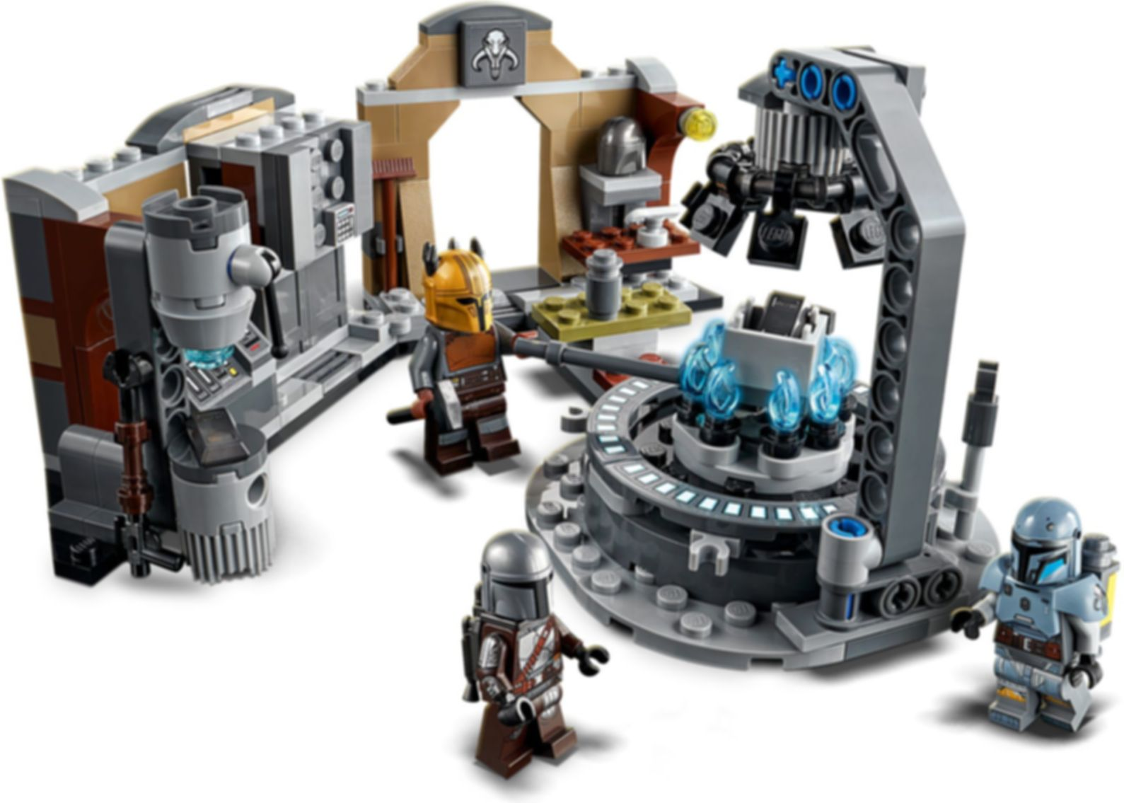 LEGO® Star Wars The Armorer's Mandalorian™ Forge gameplay