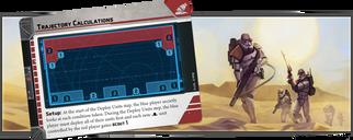 Star Wars: Legion - Crashed Escape Pod Battlefield Expansion cards