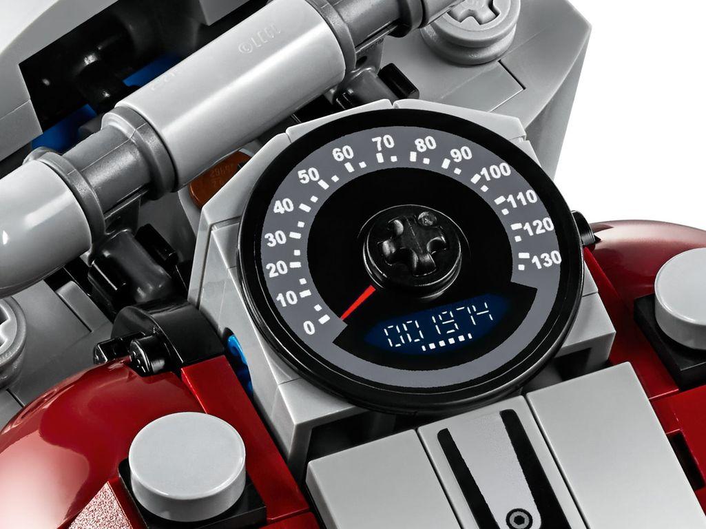 LEGO® Creator Expert Harley-Davidson® Fat Boy® interior