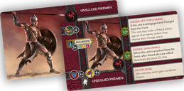 A Song of Ice & Fire: Tabletop Miniatures Game – Targaryen Unsullied Pikemen cards