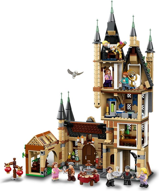 LEGO® Harry Potter Hogwarts™ Astronomy Tower interior