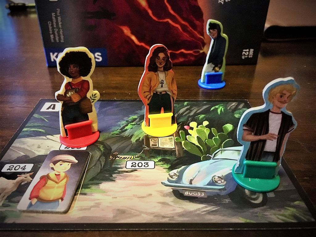 Adventure Games: The Volcanic Island components