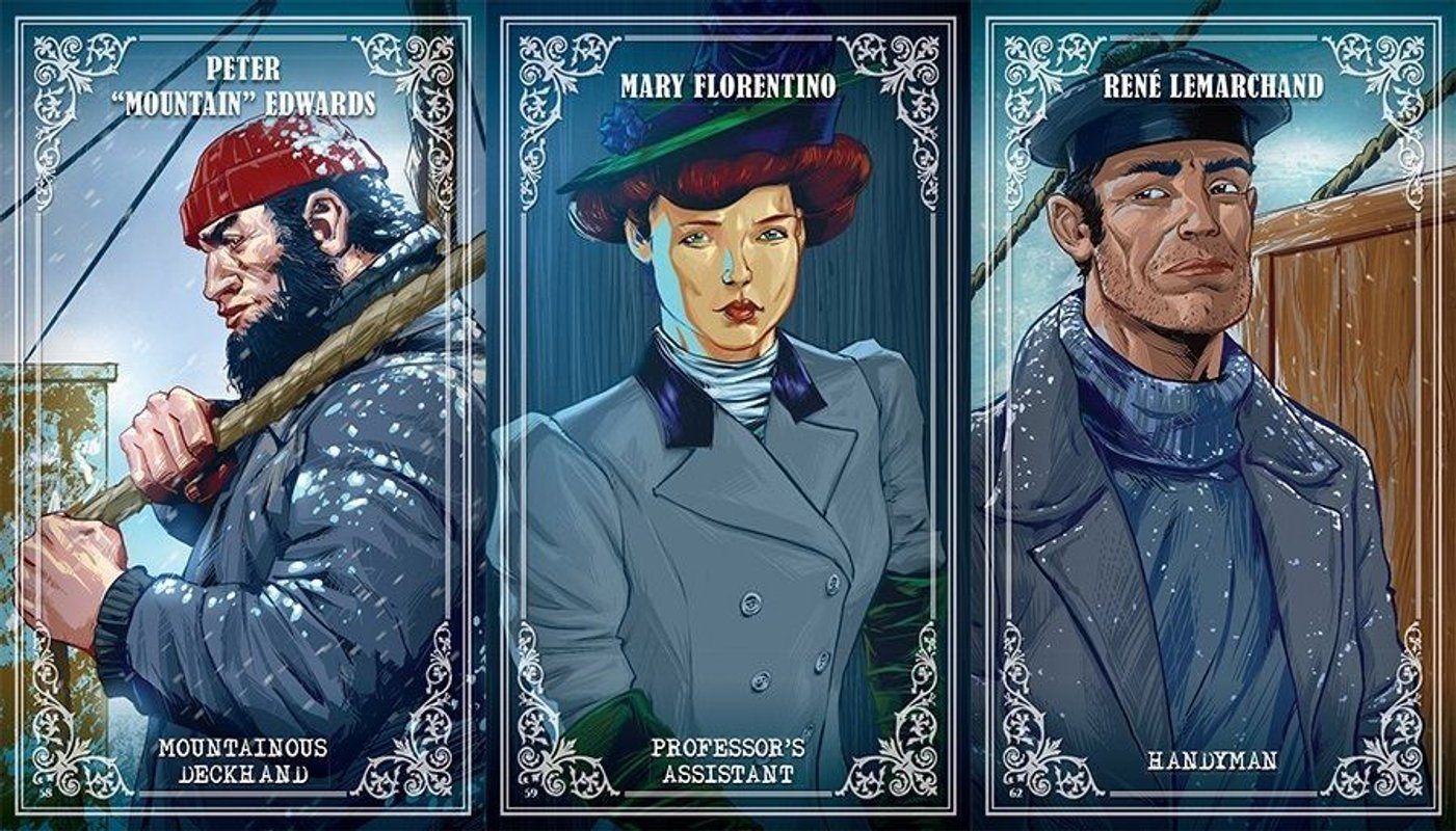 T.I.M.E Stories: Expedition: Endurance cards