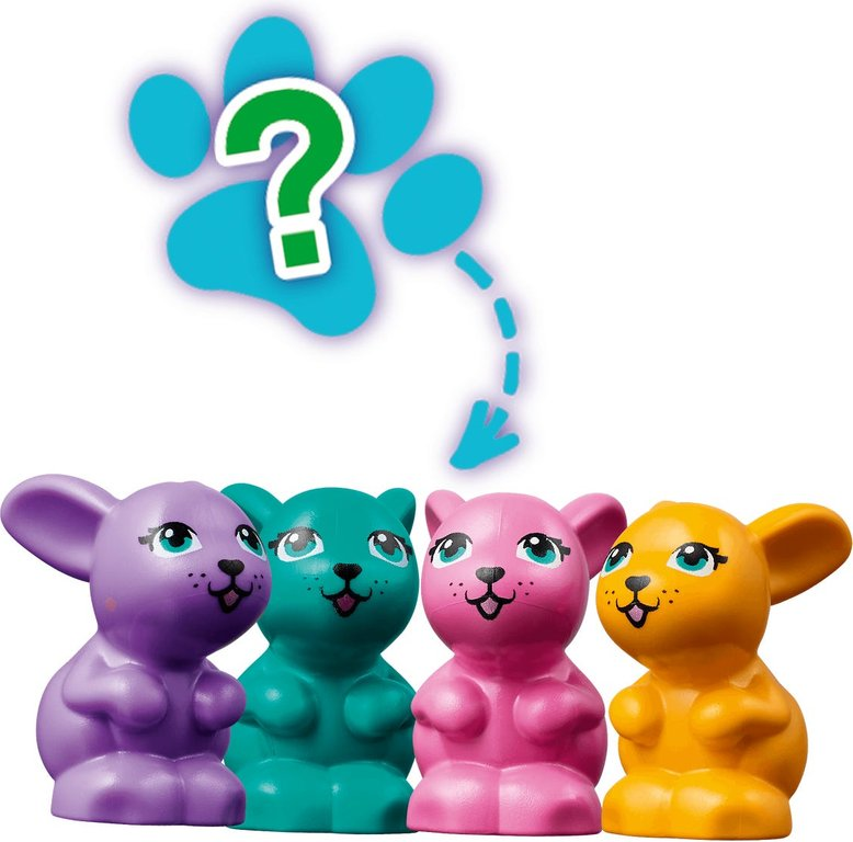 LEGO® Friends Andrea's Bunny Cube animals