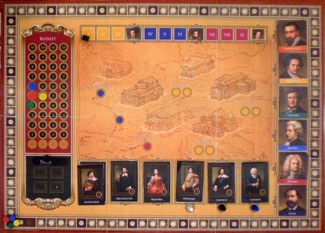 Opera game board