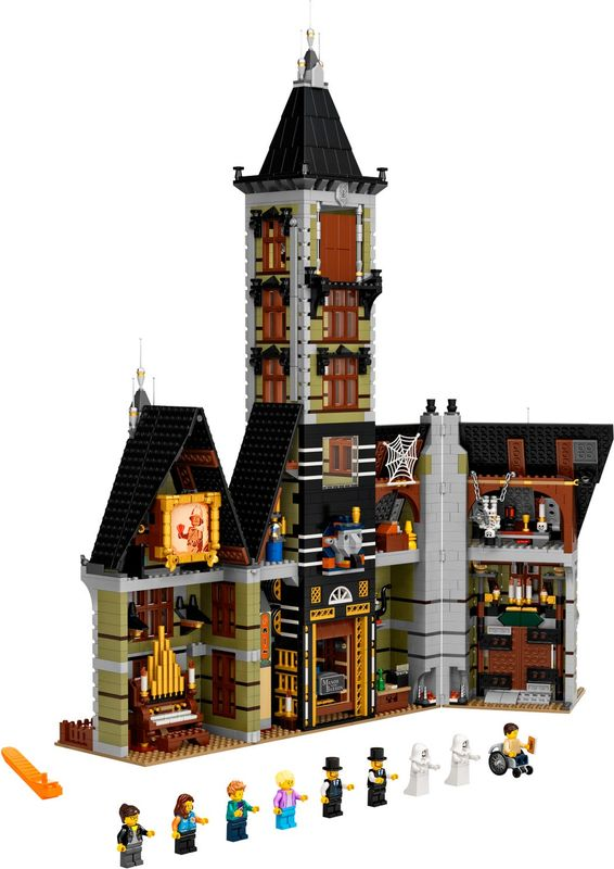 LEGO® Creator Expert Haunted House components
