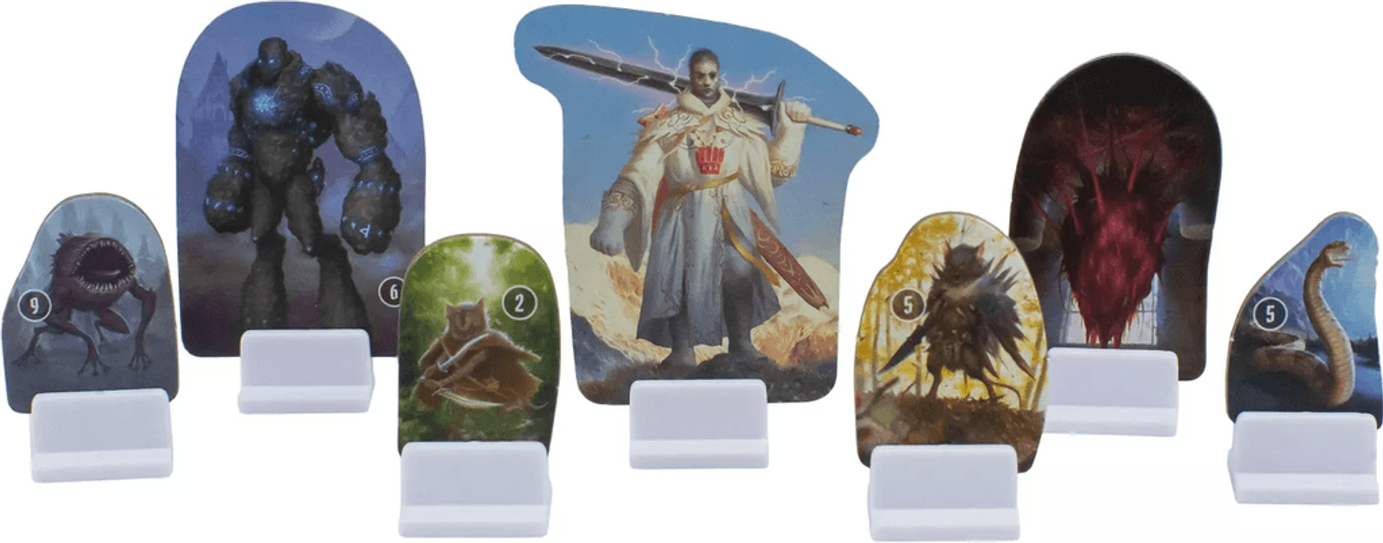 Gloomhaven: Jaws of the Lion components