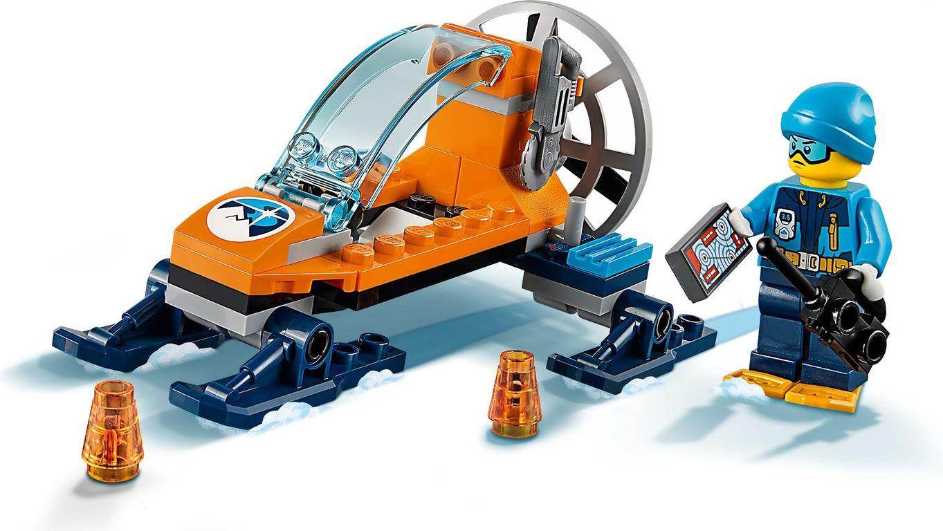 LEGO® City Arctic Ice Glider components