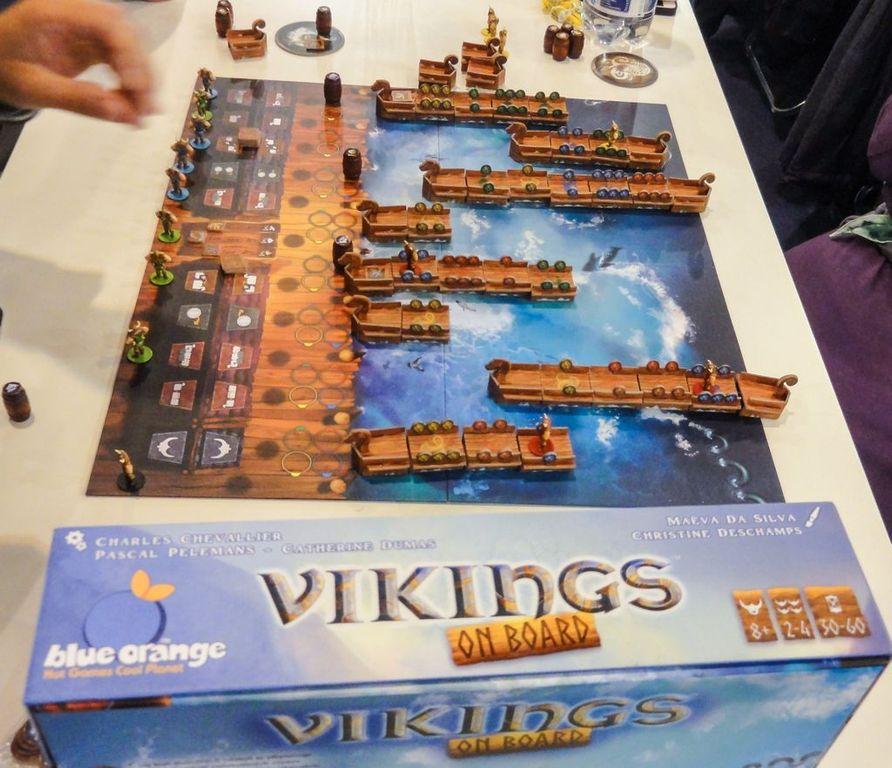 Vikings on Board komponenten