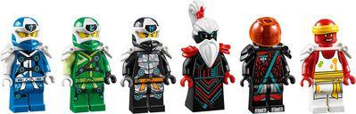 LEGO® Ninjago Empire Temple of Madness minifigures
