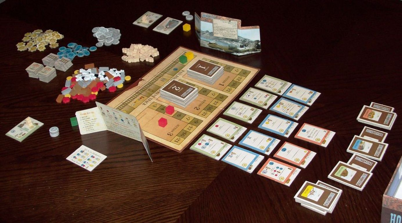 Homesteaders components