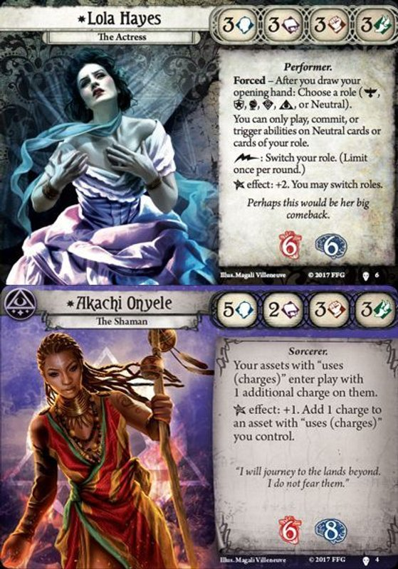 Arkham Horror: The Card Game - The Path to Carcosa cards