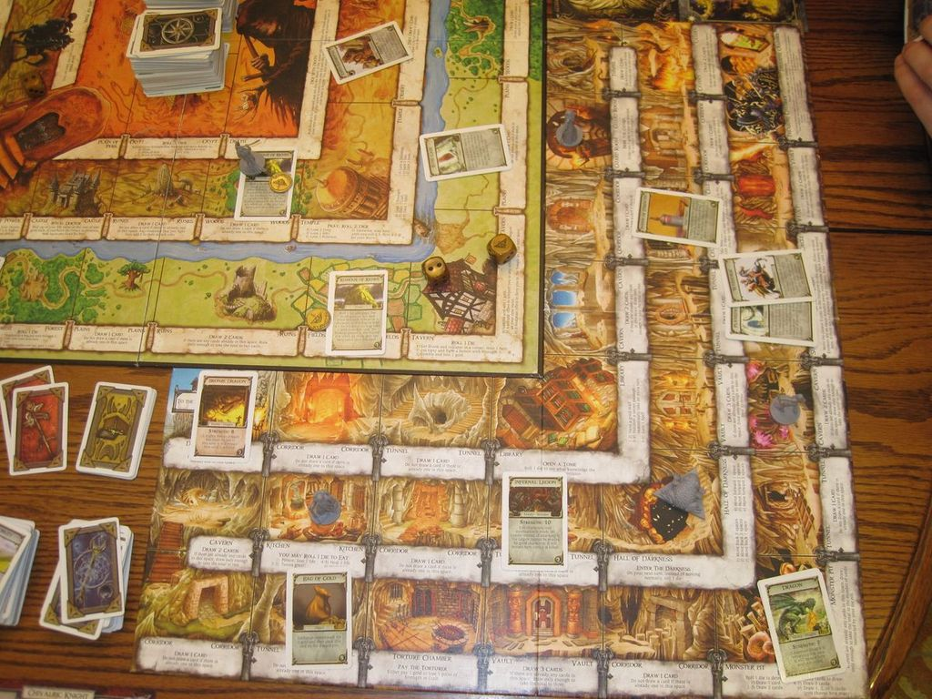 Talisman (Revised 4th Edition): The Dungeon Expansion gameplay