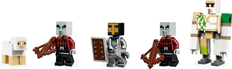 LEGO® Minecraft The Pillager Outpost minifigures