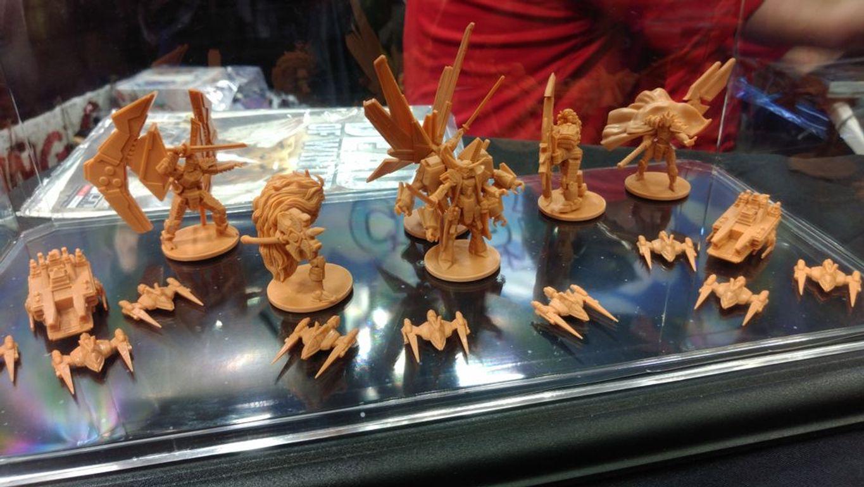 Starship Samurai miniatures