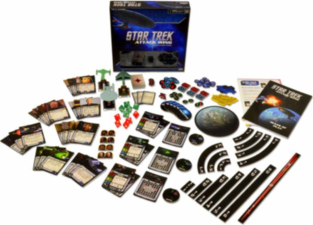 Star Trek: Attack Wing components