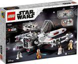 LEGO® Star Wars Luke Skywalker's X-Wing Fighter™ back of the box