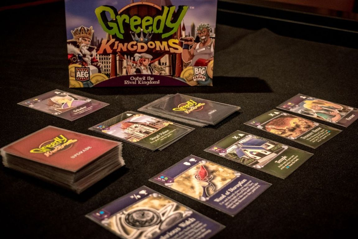 Greedy Kingdoms cards