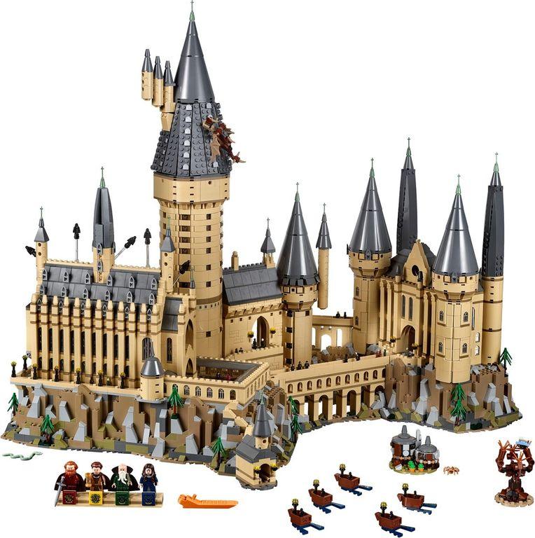 LEGO® Harry Potter Hogwarts™ Castle components
