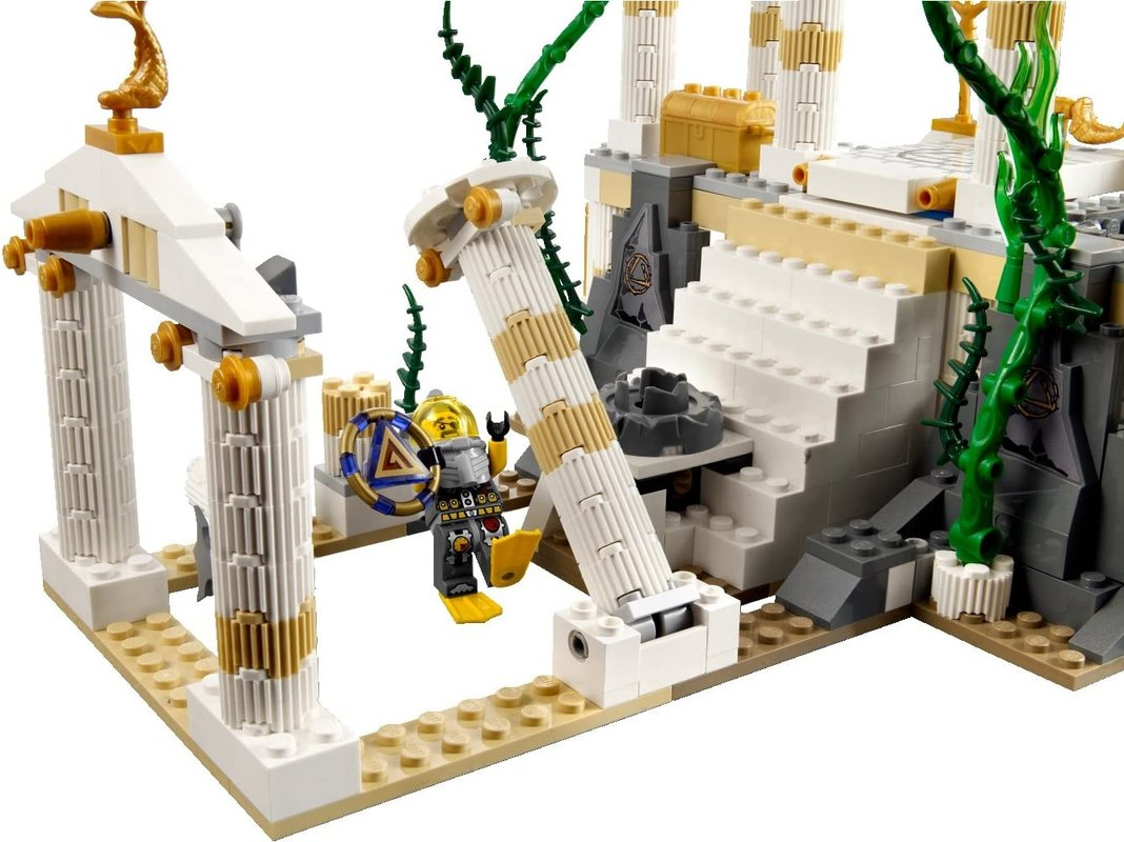 Temple of Atlantis gameplay
