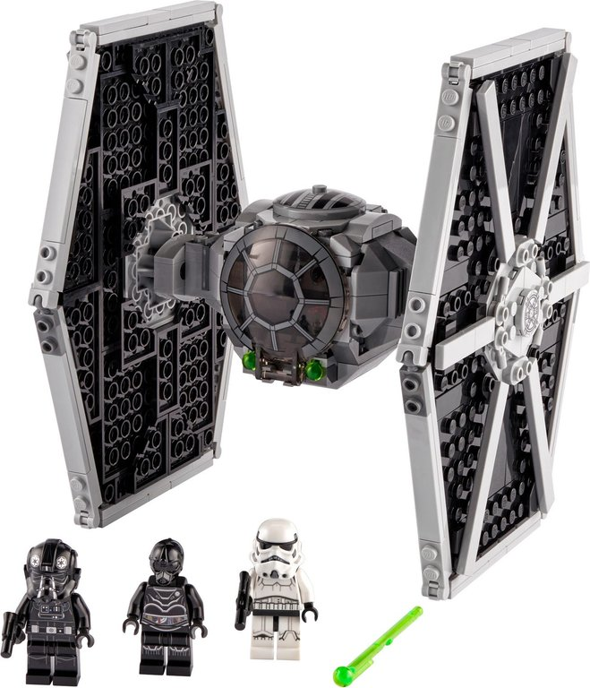 LEGO® Star Wars Imperial TIE Fighter™ components