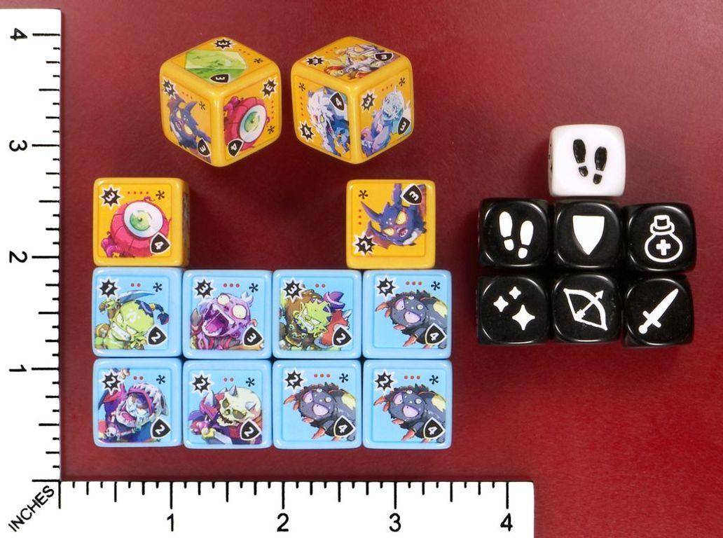 Masmorra: Dungeons of Arcadia dice