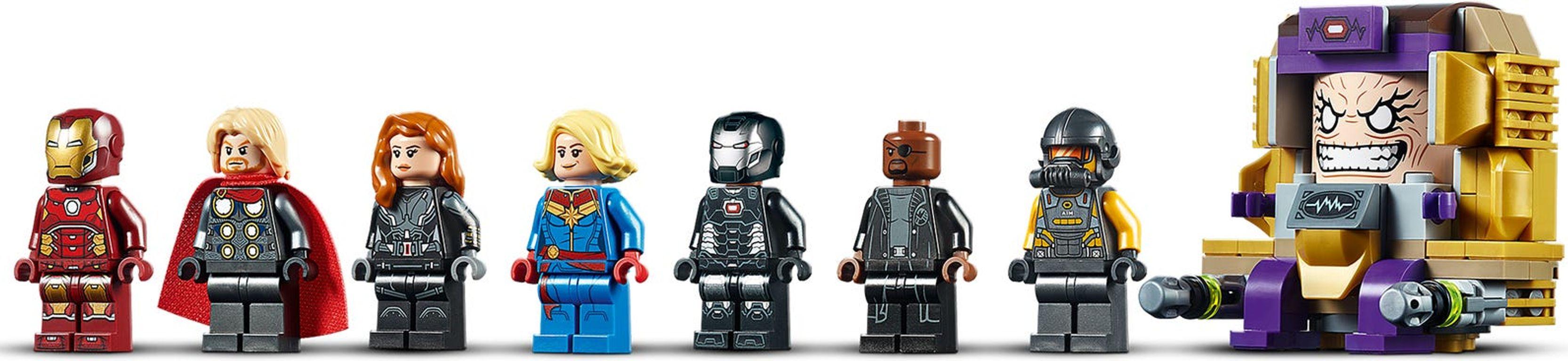 Avengers Helicarrier minifigures