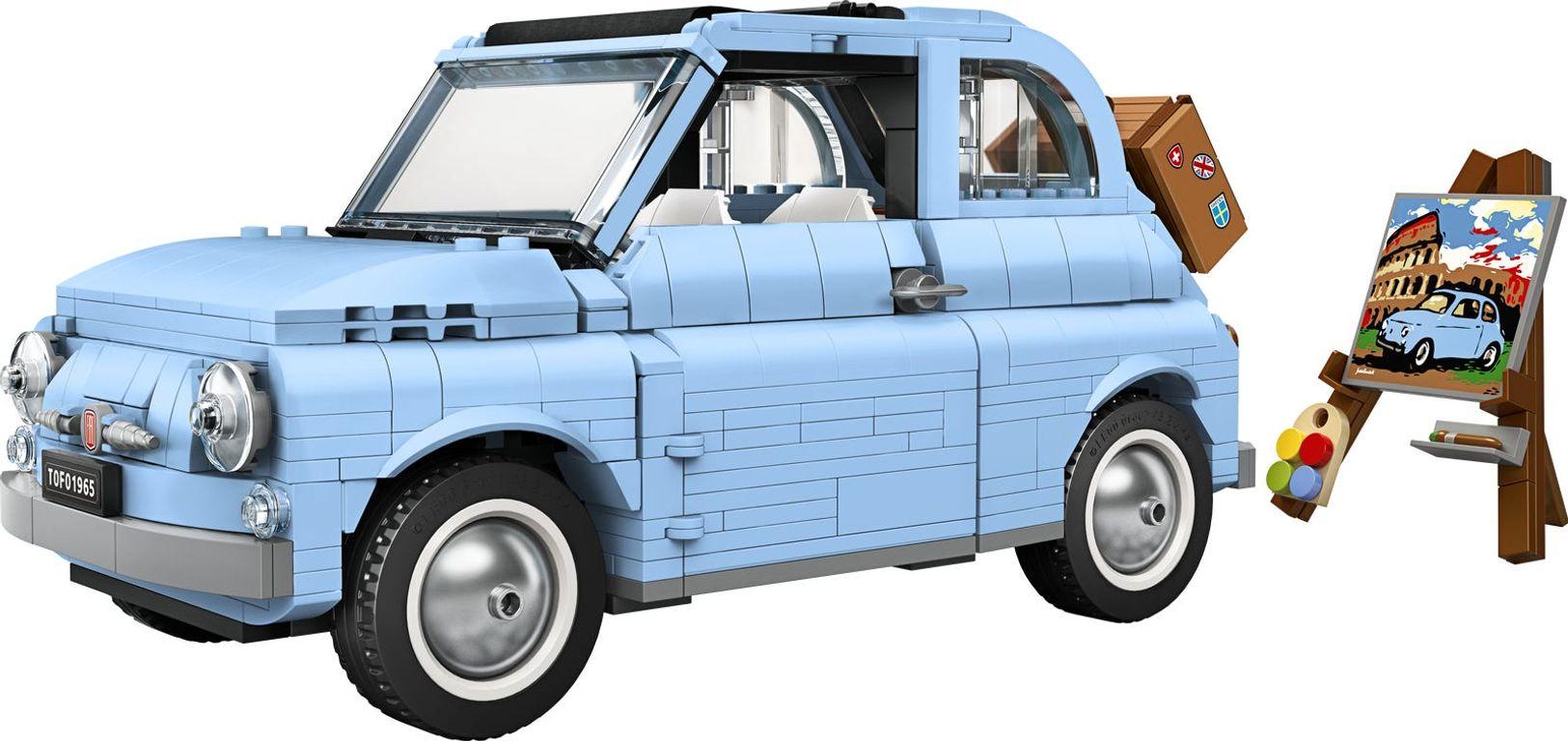 LEGO® Creator Expert Fiat 500 components