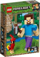 LEGO® Minecraft Steve BigFig with Parrot