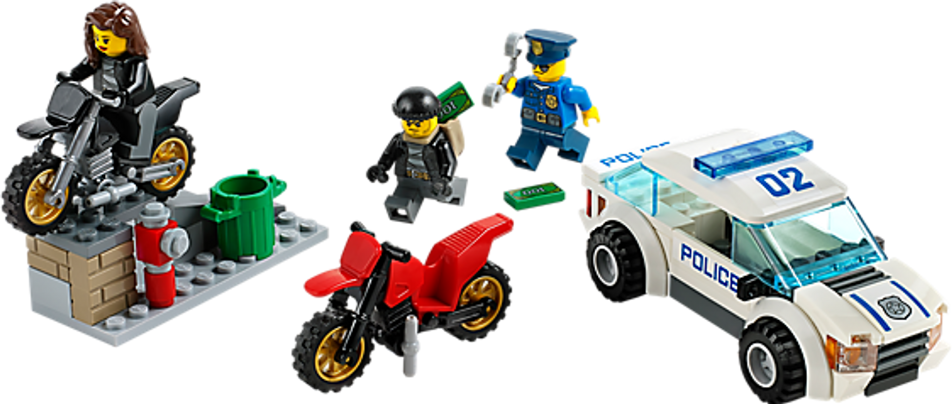 High Speed Police Chase components