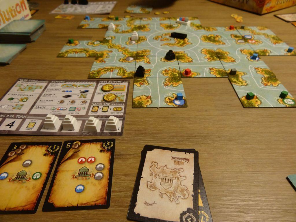 Akrotiri gameplay